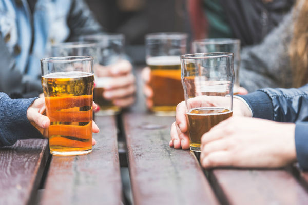 Does Drinking Alcohol Kill the Germs it Comes Into Contact With?