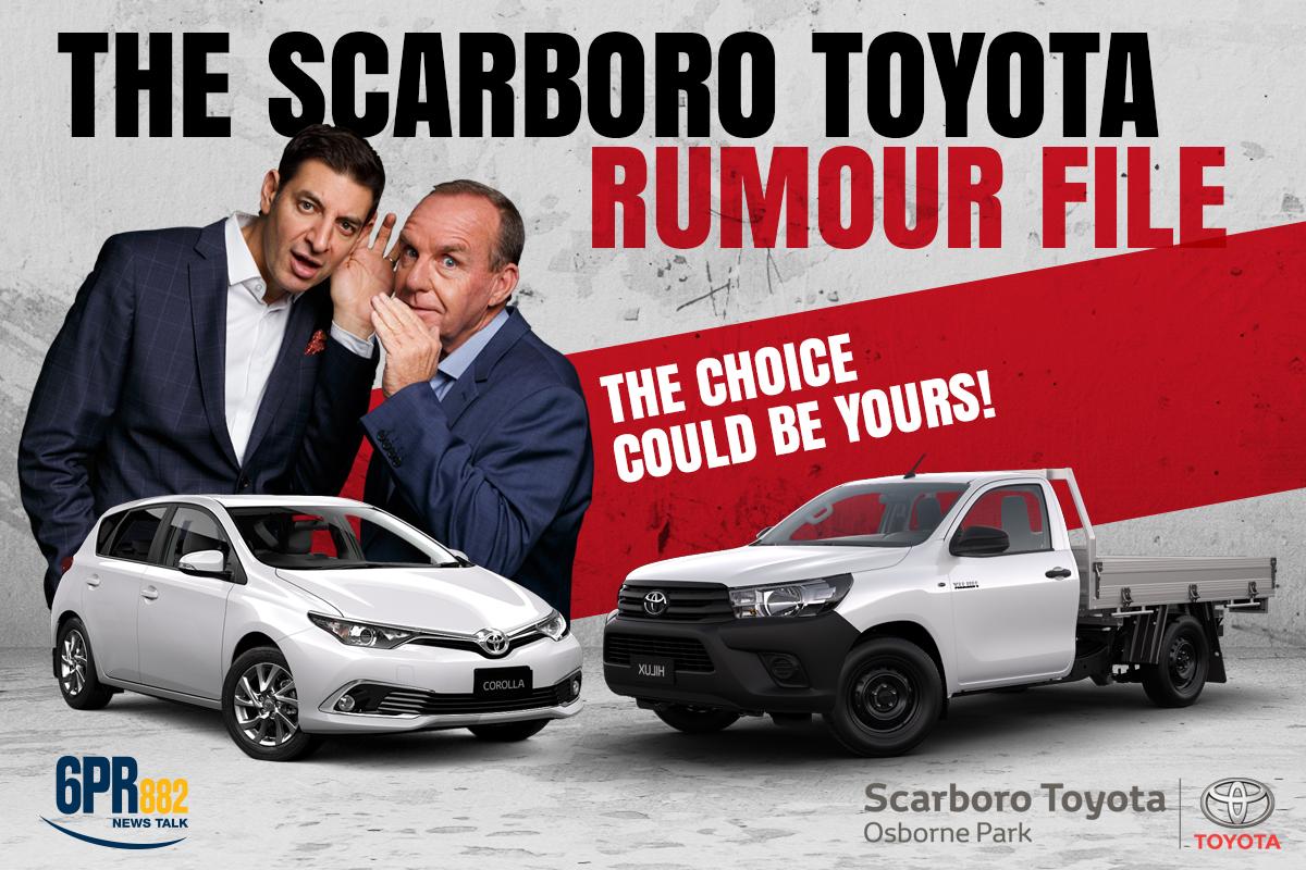 Scarboro Toyota Rumour File