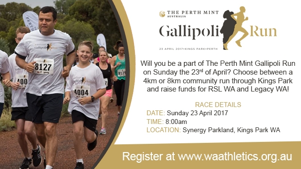 Article image for The Perth Mint Gallipoli Run 2017 at Kings Park