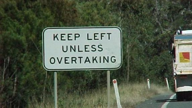 Article image for Move to ban overtaking lanes