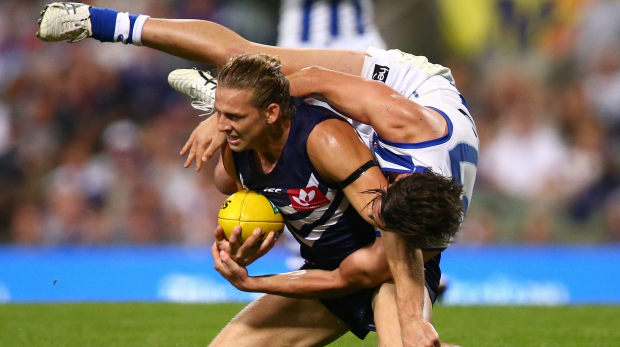 Article image for Freo steal win in final seconds