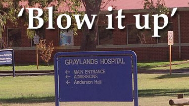 Article image for WA Health boss say 'blow up' Graylands