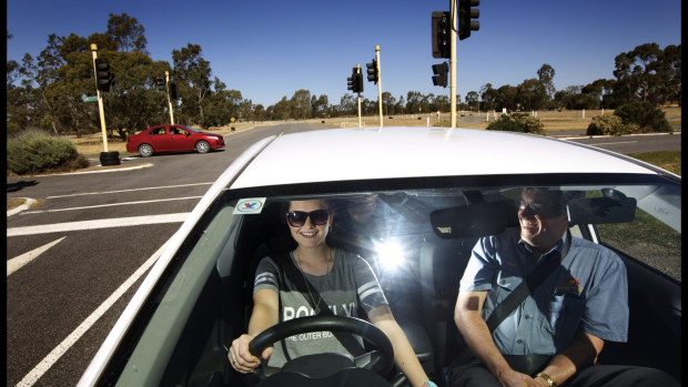 Article image for Safety driving lessons for youngsters