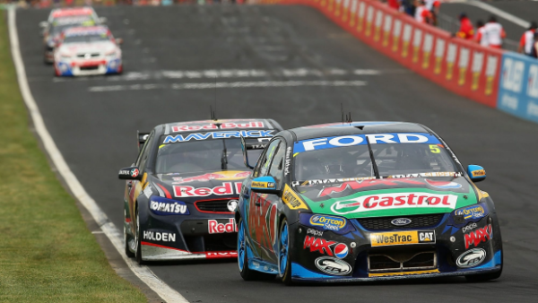 Article image for Ford announces end of V8 sponsorhip in 2015