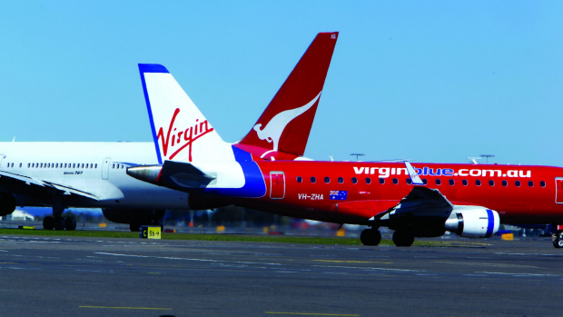Article image for End of low airfares as QANTAS and Virgin end capacity war.