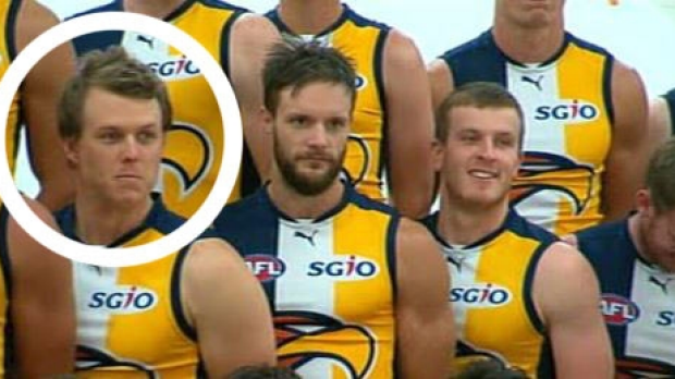 Article image for West Coast Eagles use body double for injured Callum Sinclair