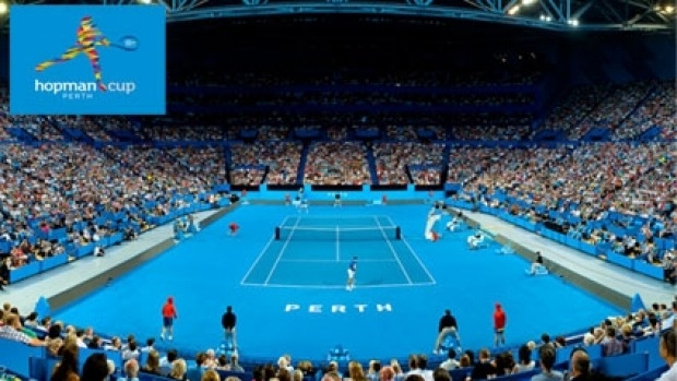 Article image for Win tickets to the 2015 Hopman Cup, January 4-10 at Perth Arena