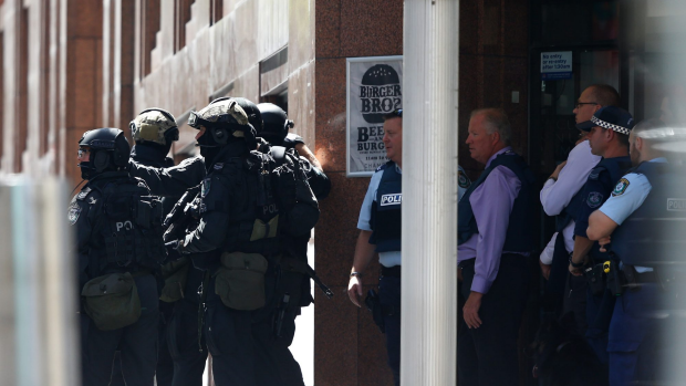 Article image for Lindt Chocolat Cafe hostage drama in Martin Place, Sydney