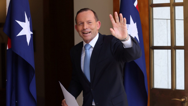 Article image for Tony Abbott re-shuffles the Cabinet and drops David Johnston