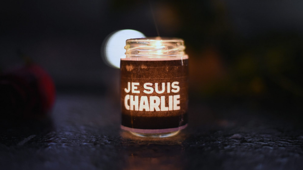 Article image for Keysar Trad explains why he appeared on the front page of The Australian holding a Charlie Hebdo cover