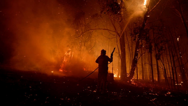 Article image for Northcliffe faces fire front as resident decides to stay