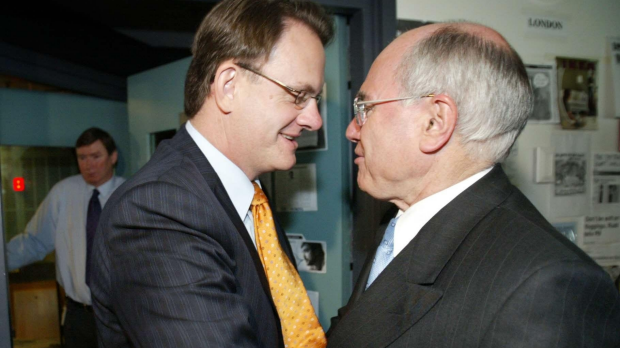 Article image for Mark Latham says he should have decked John Howard