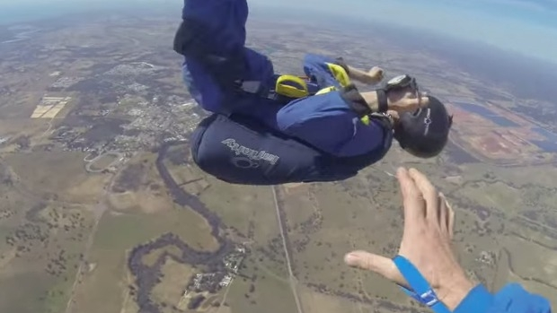 Article image for Video Man has seizure during skydive
