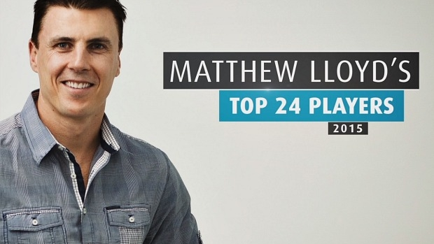 Article image for Matthew Lloyd's Top 24 Players for 2015