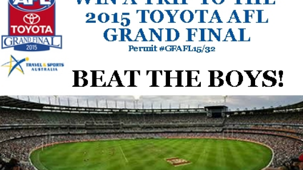 Article image for Beat The Boys Footy Tipping Competition