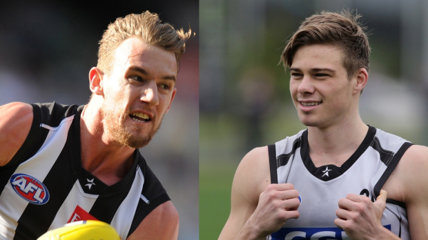 Article image for Collingwood pair return positive sample to performance enhancing drugs