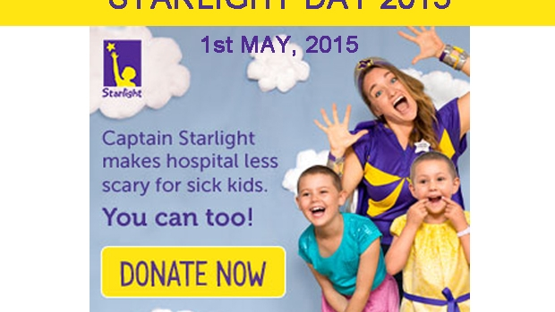 Article image for Starlight Day is May 1st, 2015
