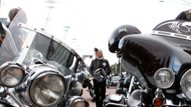 Article image for Bikers to ride on Parliament