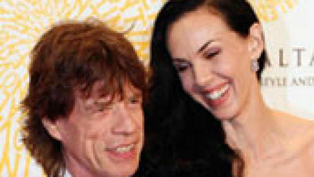 Article image for Jagger's girlfriend found dead