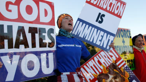 Article image for US Church plans SW protest
