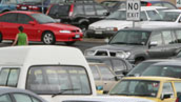 Article image for Carparks full by 5.40am