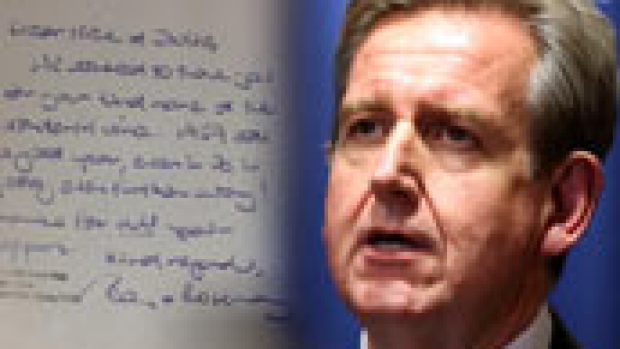 Article image for O'Farrell resigns over gift