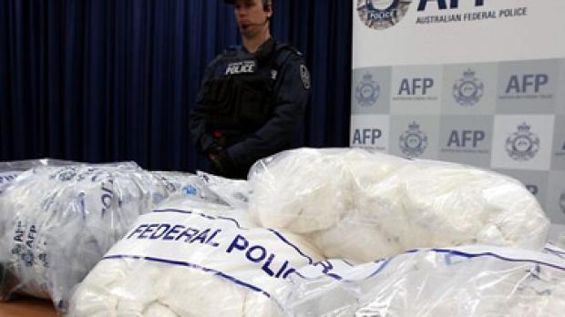 Article image for Drug seizures at record high
