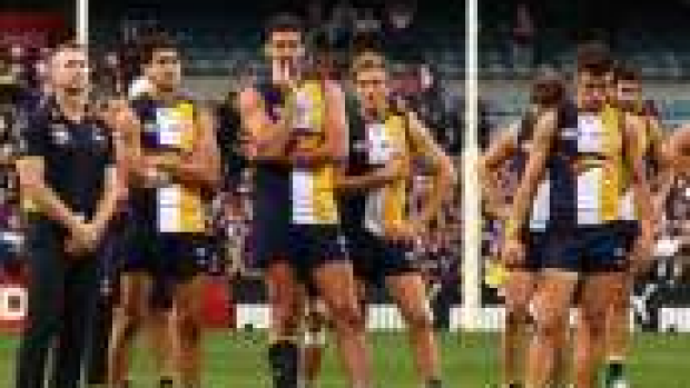 Article image for Eagles may change goal kicking