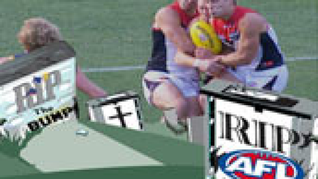Article image for Did this bump kill the AFL?