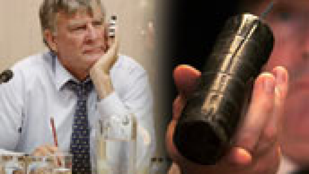 Article image for Heffernan's pipe bomb warning