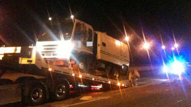 Article image for Street sweeper impounded