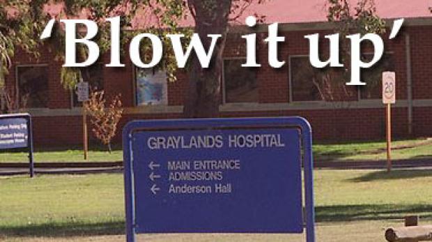 Article image for Health boss slams Graylands