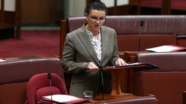 Article image for Lambie's threats over pay deal