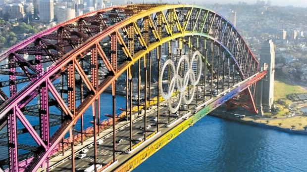 Article image for Olympic rings sold
