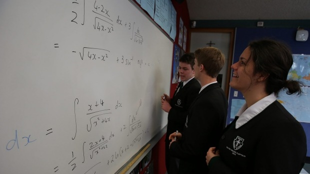 Article image for Push for maths or science to become compulsory