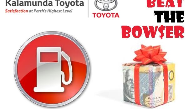 Article image for Beat The Bowser on 6PR, thanks to Kalamunda Toyota