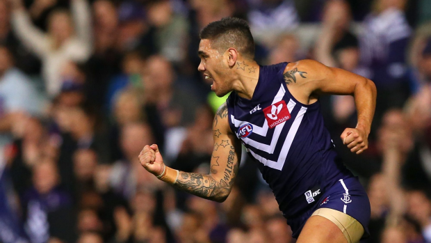 Article image for Fremantle survive scare from Gold Coast