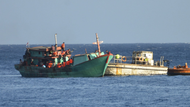 Article image for Claims the Government paid people smugglers to turn an asylum seeker boat around