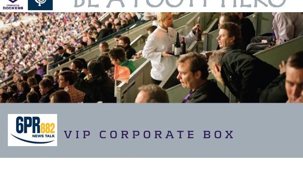 Article image for Win the 6PR Corporate Box for Freo vs Carlton!