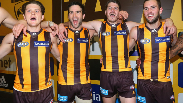 Article image for Hawthorn defeat Fremantle by 72 points in launceston