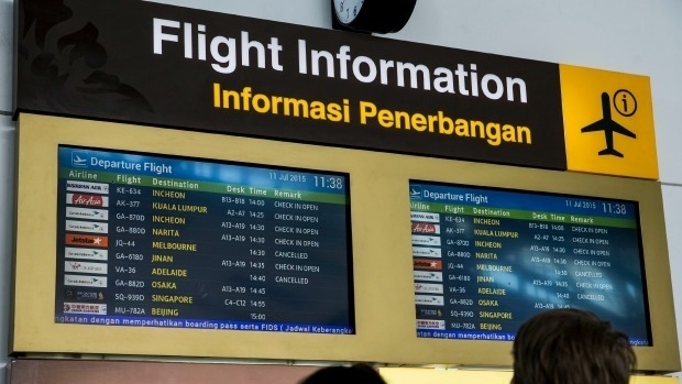 Article image for Perth couple return home while family members remain stranded in Bali