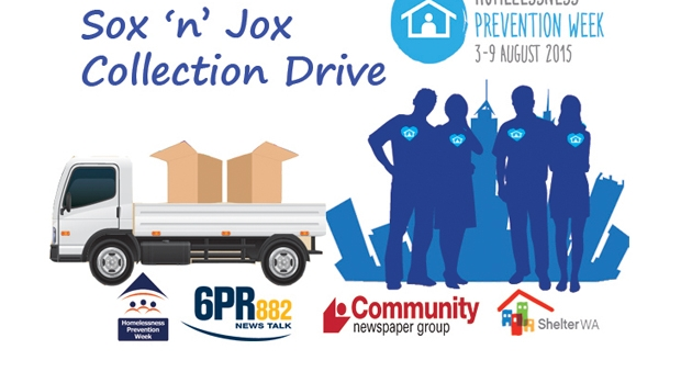 Article image for Sox'n'Jox Appeal, for Homelessness Prevention Week
