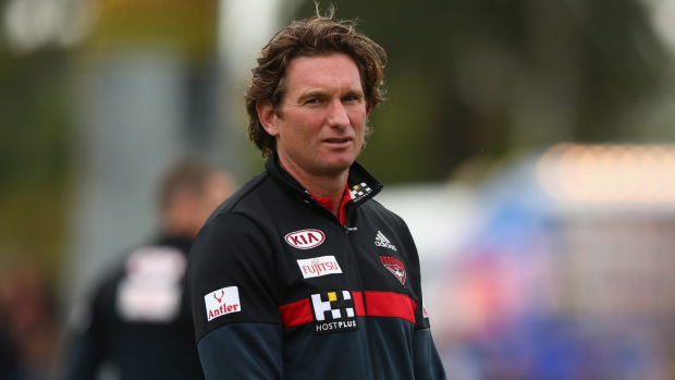Article image for James Hird: Will he or won't he coach?