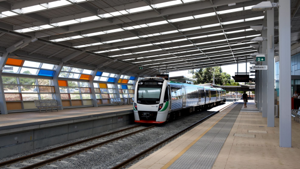 Article image for The voice of Perth's trains