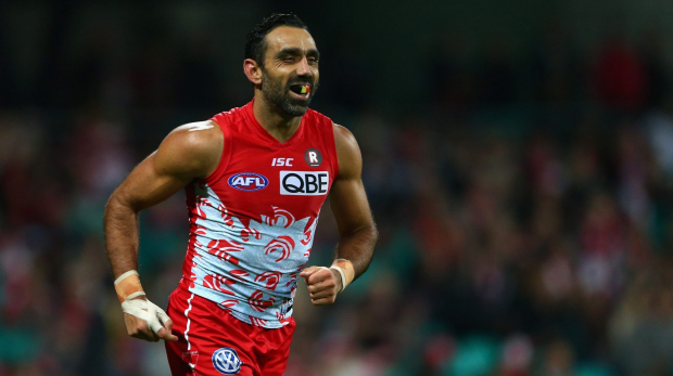 Article image for Adam Goodes booed by Domain Stadium crowd