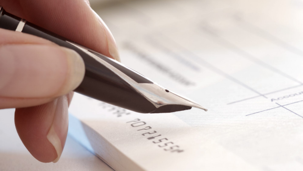Article image for Charged for using a cheque