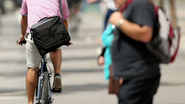 Article image for Cyclists headed for footpaths