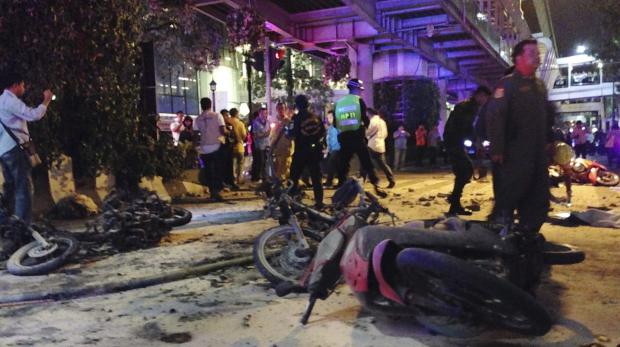 Article image for Bangkok paramedic first on blast scene