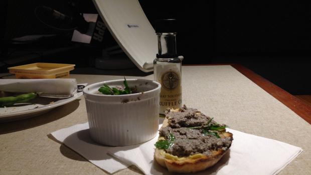 Article image for Recipe: Verity James' mushroom p?t?