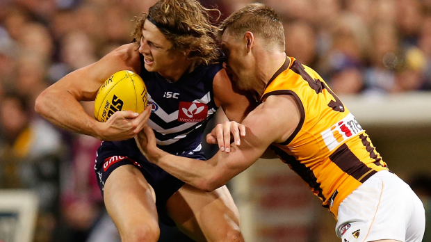 Article image for Fyfe Brownlow great win for Fremantle